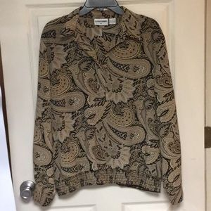 Alfred Dunner blouse size 16